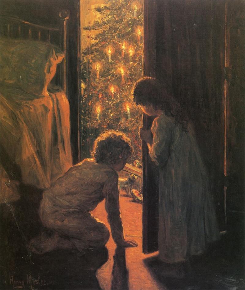 Генри Мослер, «Рождественское утро», 1916