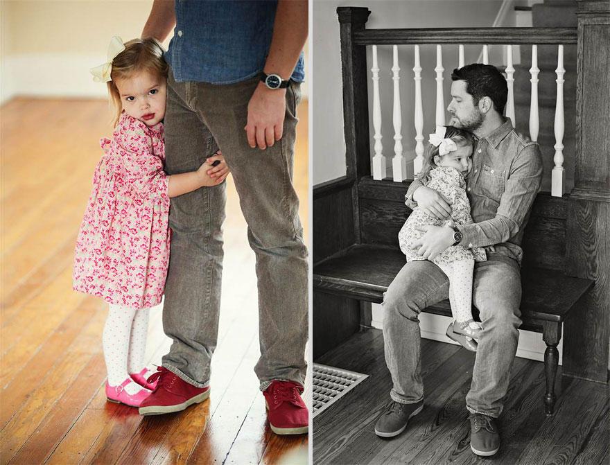 5. Наверняка в будущем эти фотографии помогут Оливии вспомнить свою маму и дом, в котором она родила