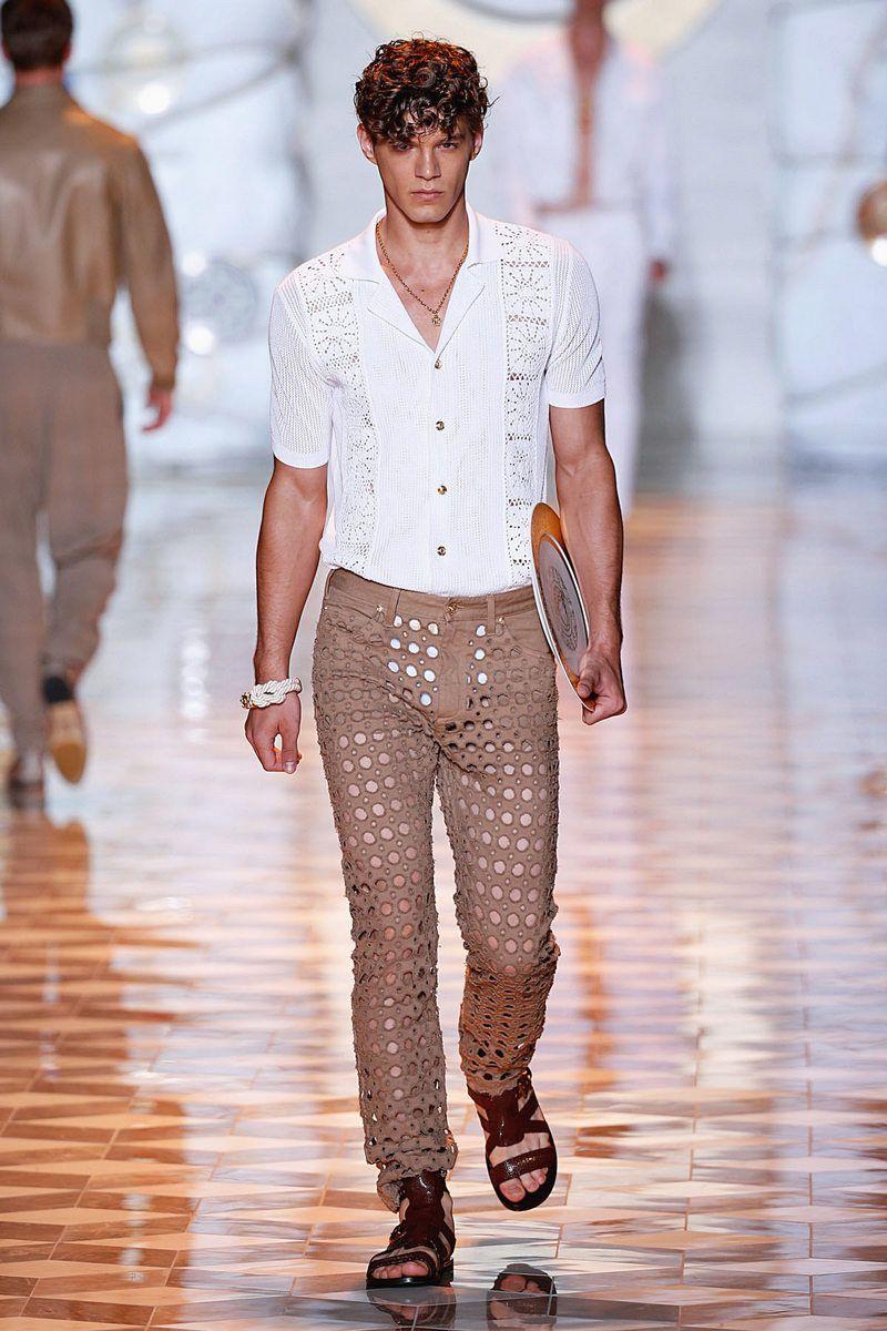 Versace. Весна-лето 2015