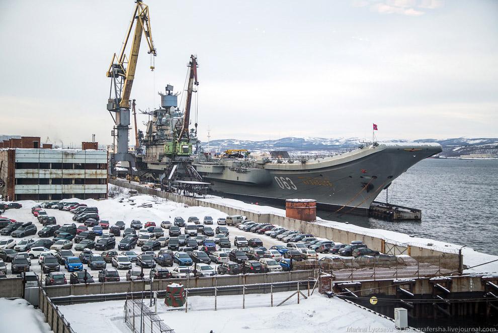 Авианосец «Адмирал Кузнецов»
