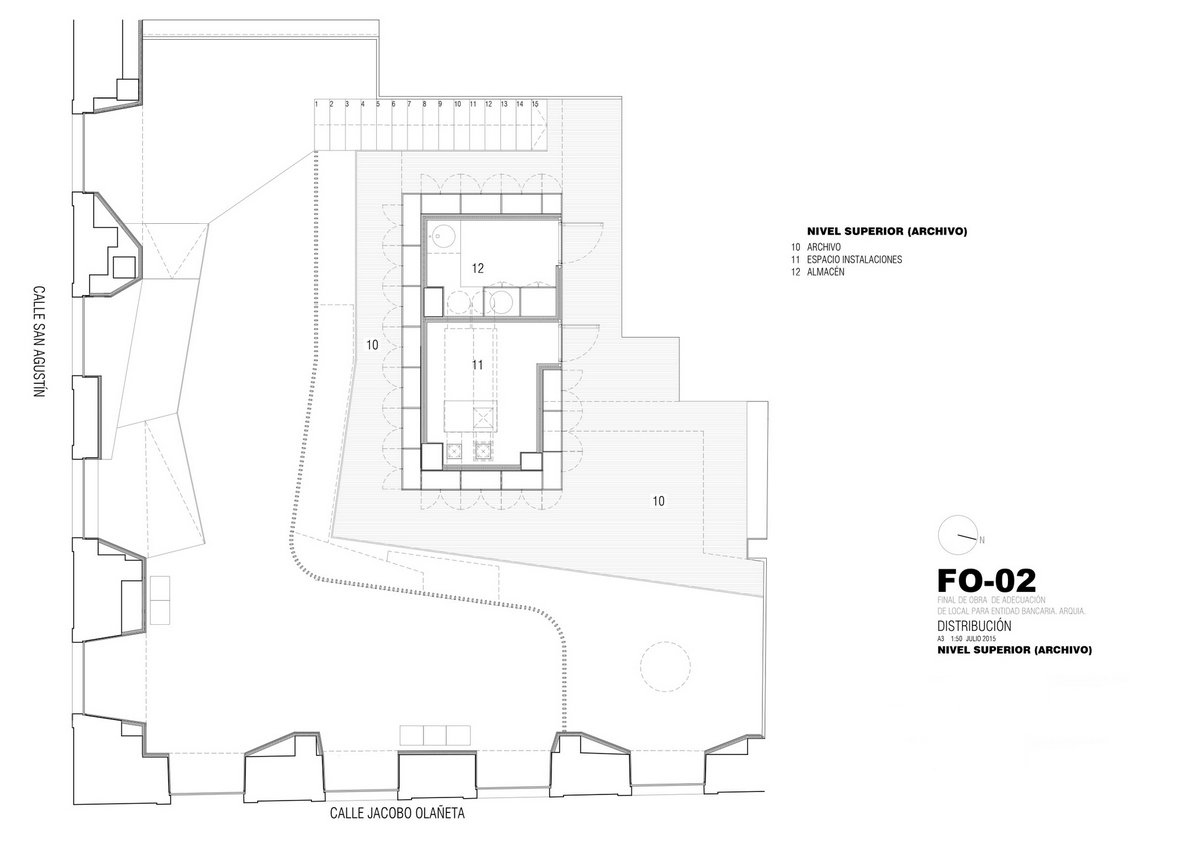 мебель из каштана, Rubio Bilbao Arquitectos, оформление офиса банка, дизайн офиса банка, Arquia Banca, дизайн маленького офиса, красивый офис банка