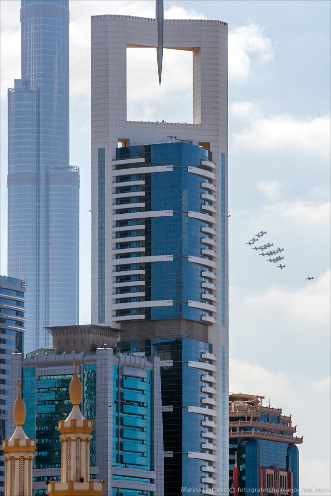 Пилотаж над городом