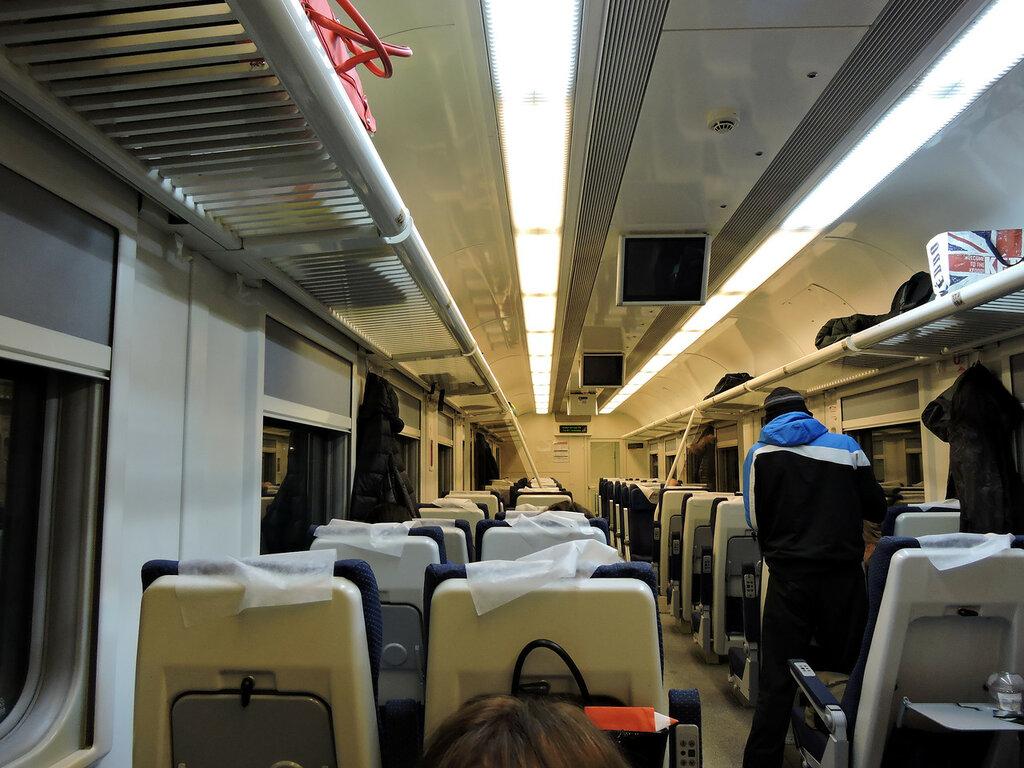 Схема сидячего вагона поезда белгород москва фото 702