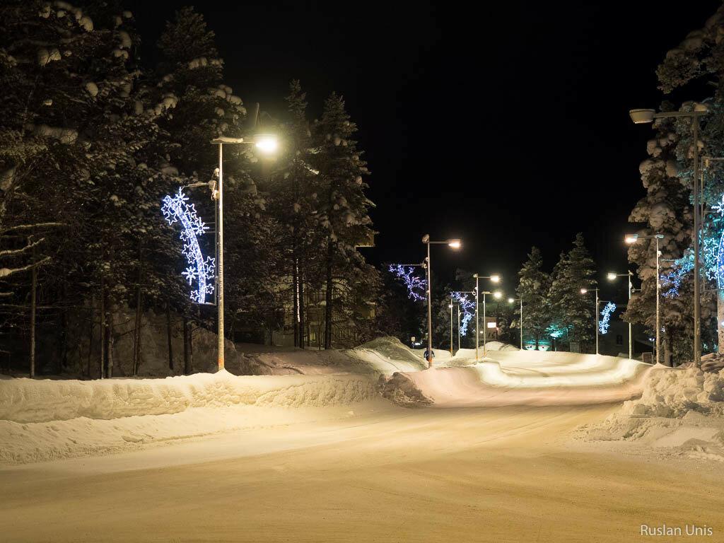 Ночная Лапландия
