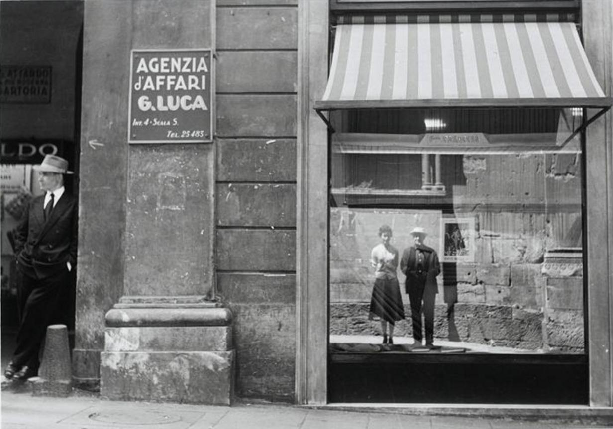 1958. Брассай со своей женой Жильбертой в Генуе