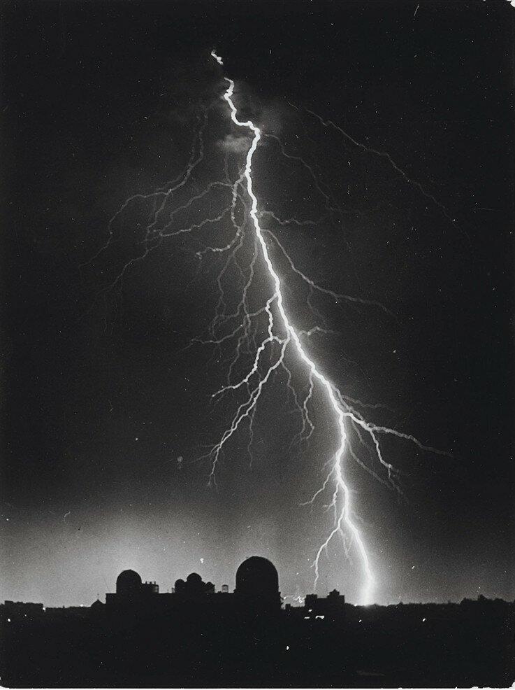 1934. Молния над Обсерваторией