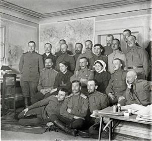 44. 1915. В штабе 46-й пехотной дивизии. Между апрелем и июлем.  Яновец-на-Висле