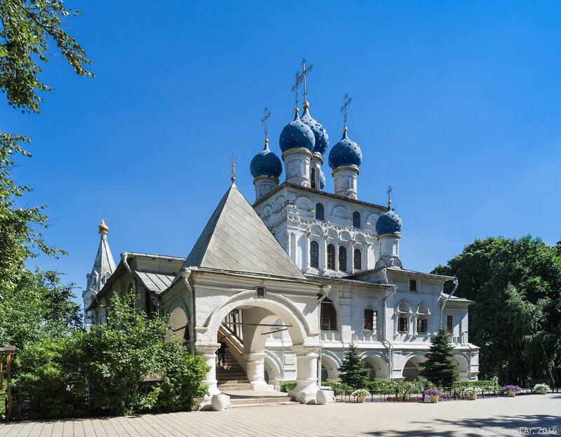 Храм Казанской Иконы Божьей Матери в Коломенском