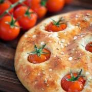 Блюдо с помидорами