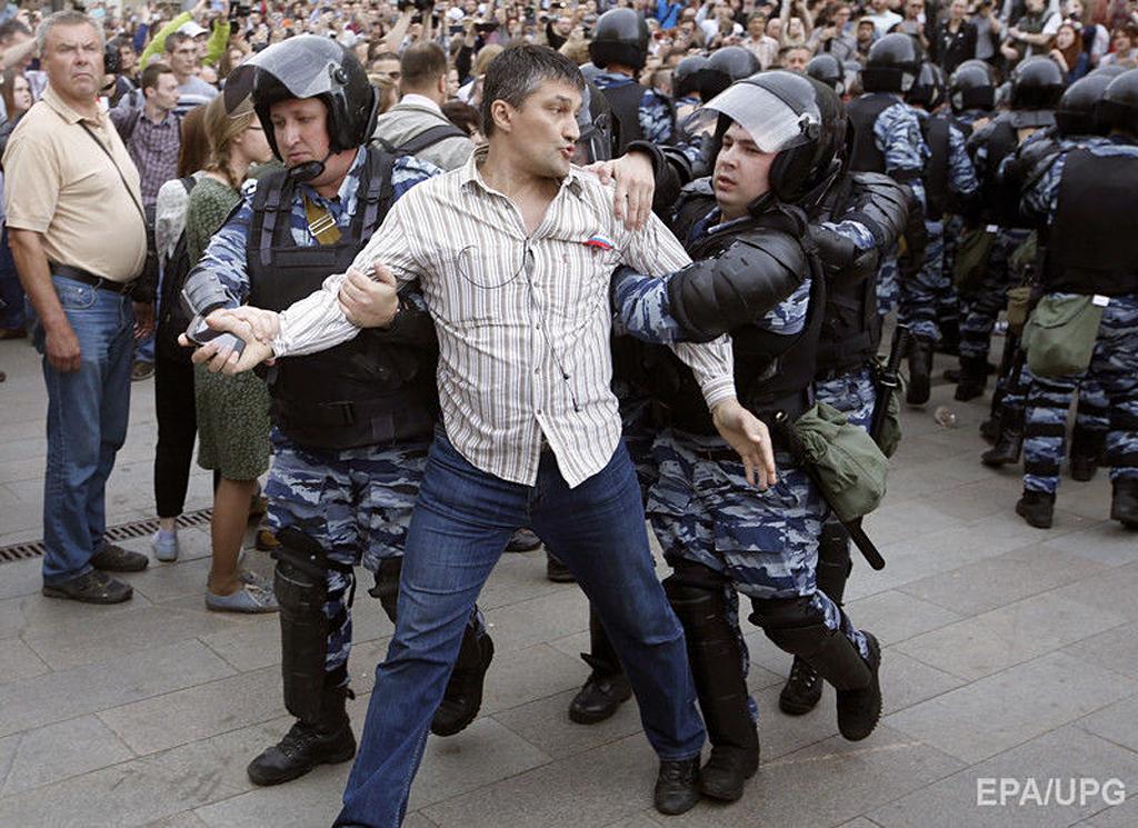 Задержание на Тверской 12 июня, 2017г.(1)
