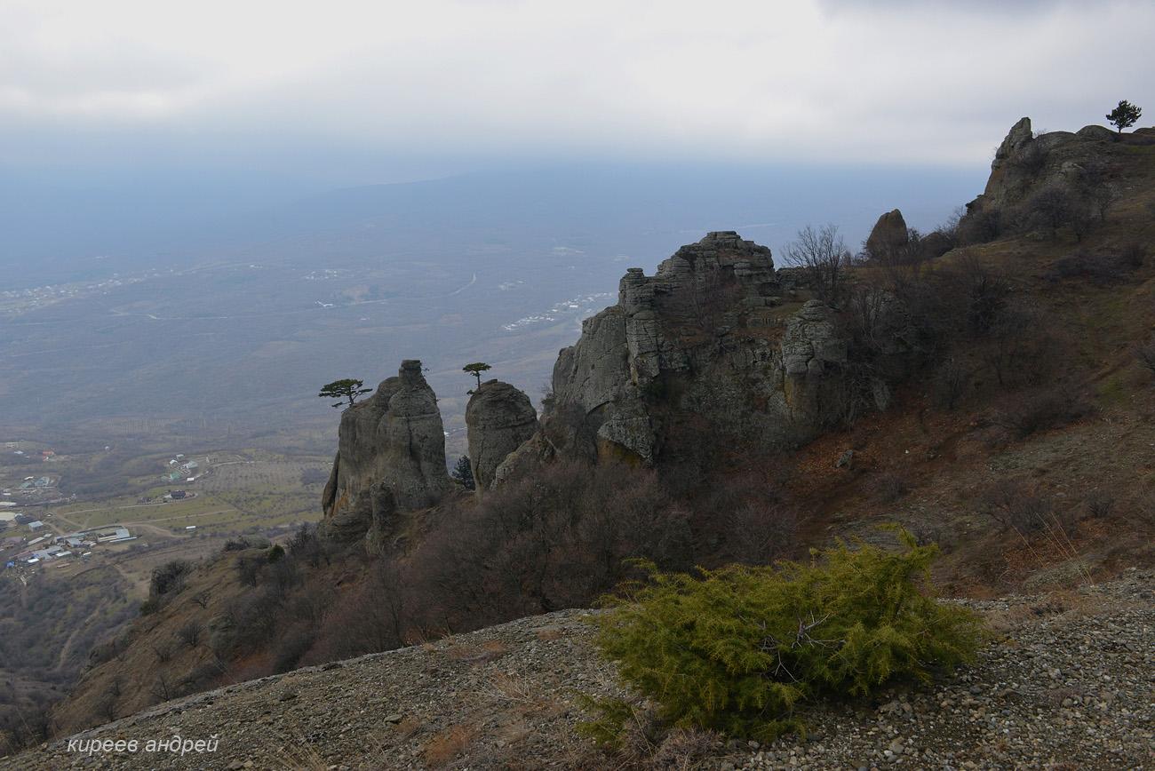 Демерджи. Крым. Зима 2018.