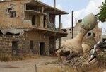 Разрушенный минарет мечети в сирийском городе Даръа, 25 мая 2016 года. Фото: Alaa Al-Faqir / Reuters