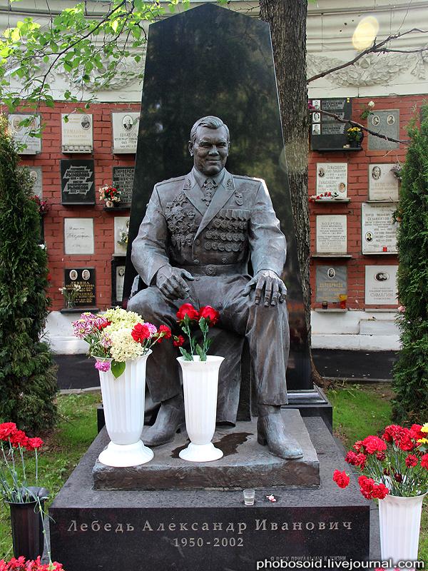 53. Лебедь Александр Иванович — российский политический и военный деятель, генерал-лейтенант.