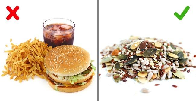Жиры бывают разные. Фастфуд, жареное, жирное, копченое имучное— такие жиры оставляем напраздники.