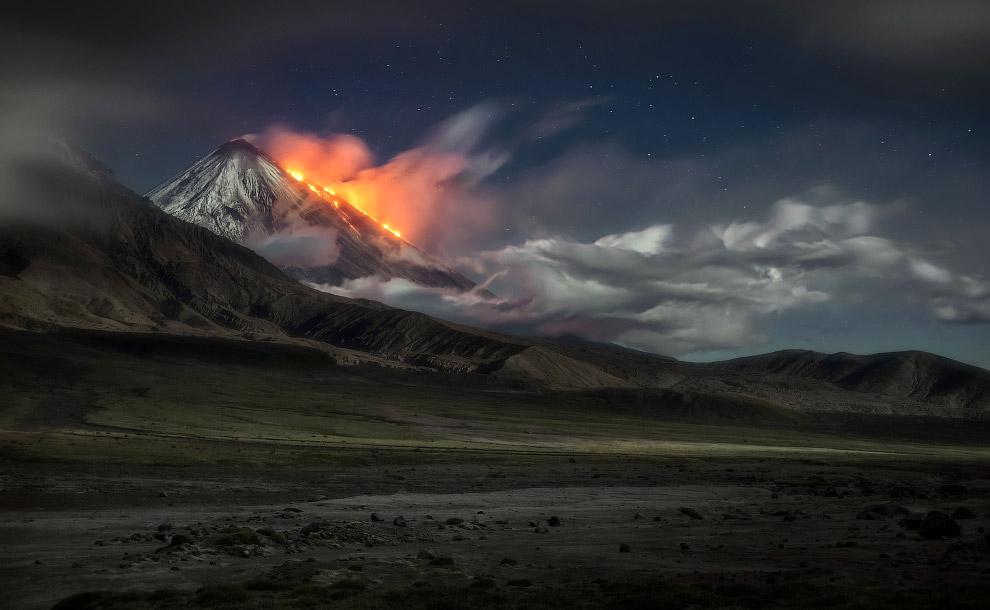 5. Большинство из них относится к древним вулканам, не проявляющим активности в настоящее время, одн