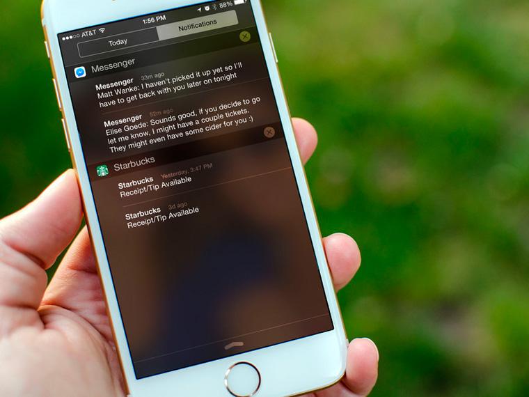 Не разрешайте всем приложениям отправлять вам уведомления   Сегодня чуть ли не