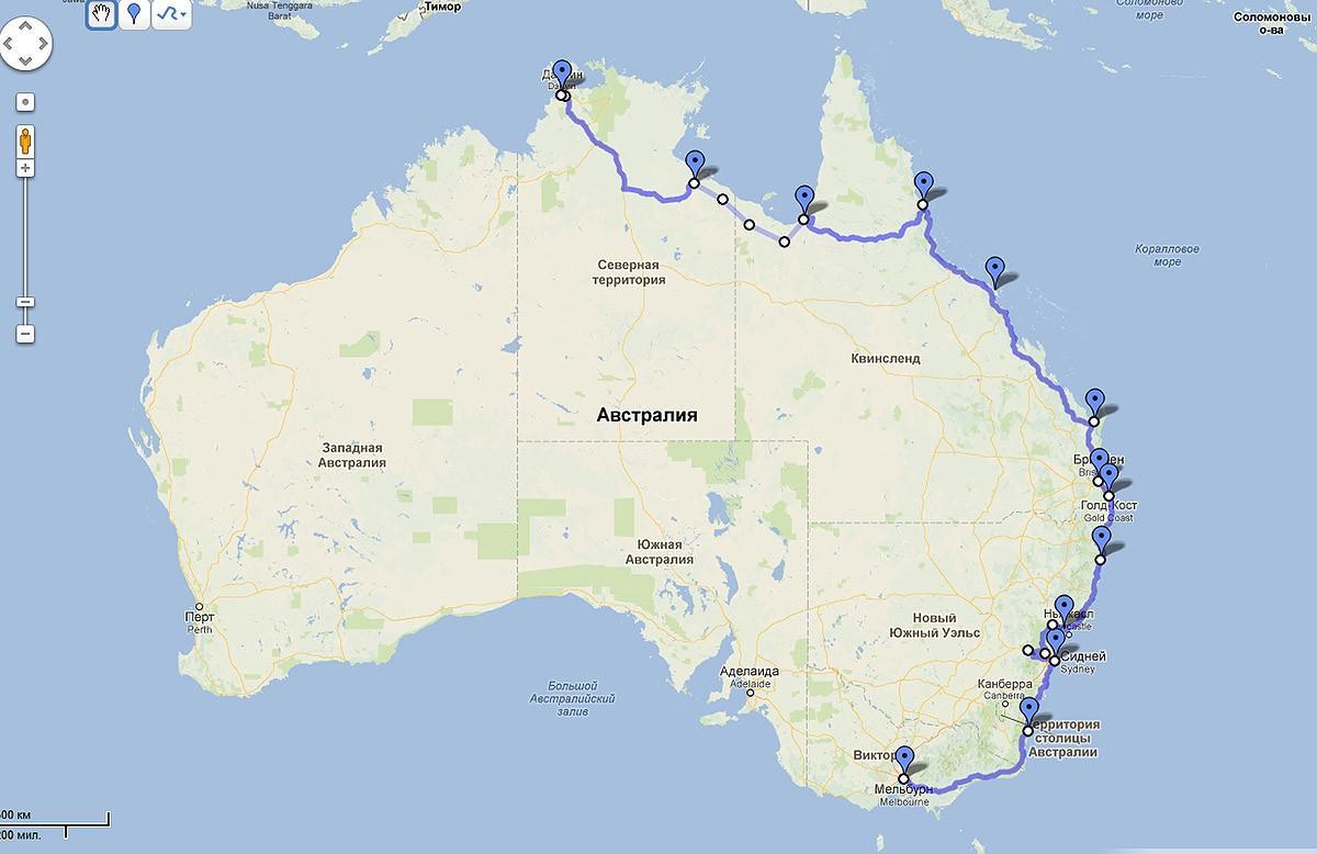 20 дней и 6350 километров — большое путешествие по Австралии (81 фото)