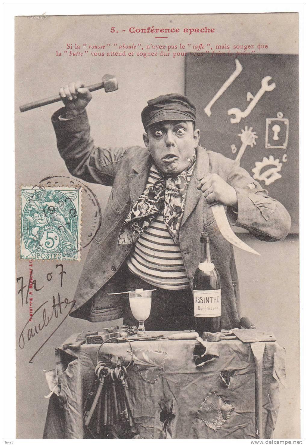 Как апаши, французские гопники начала XX века, повлияли на мировую культуру (9 фото)
