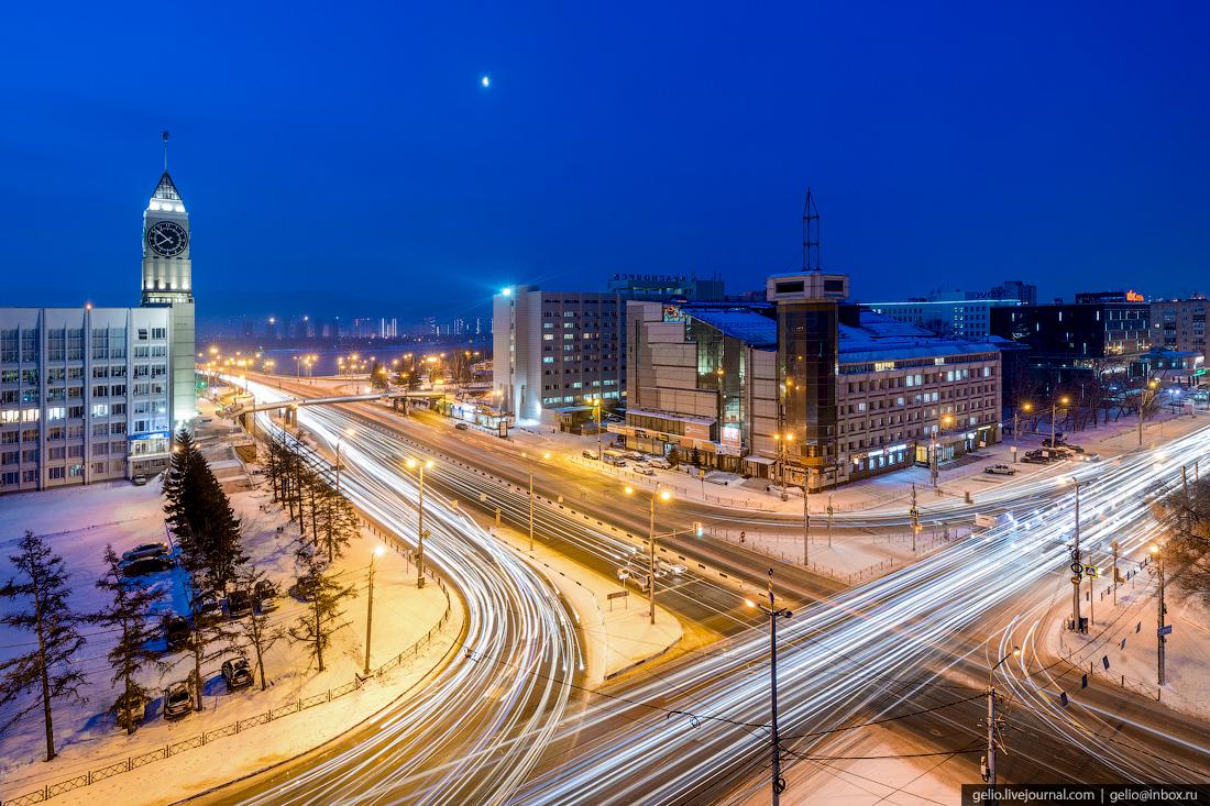 Зимний Красноярск — 2018