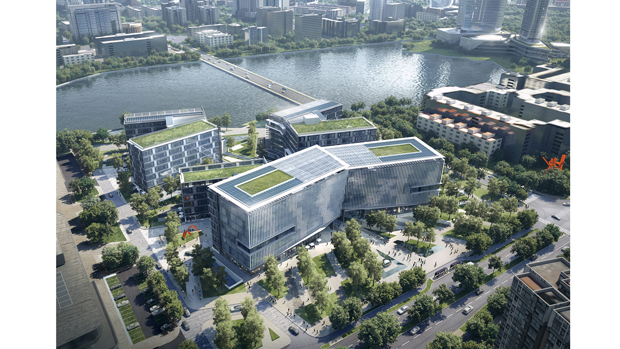 Jinwan Aviation City Research and Development Centre by 10 DESIGN
