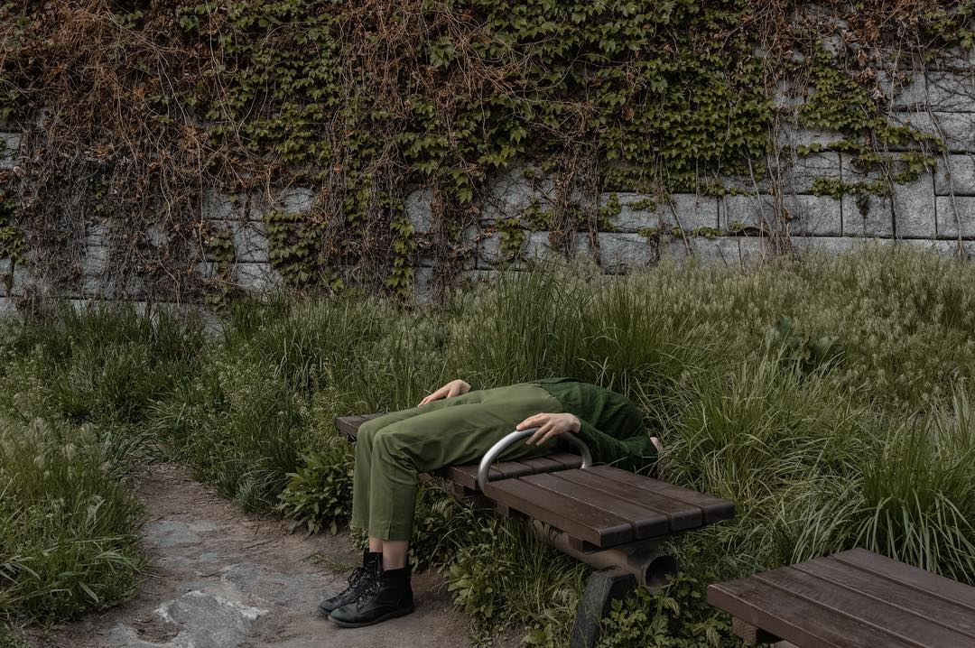 Brooklyn-based photographer Brooke DiDonato twists everyday scenes to include subtle elements of mys