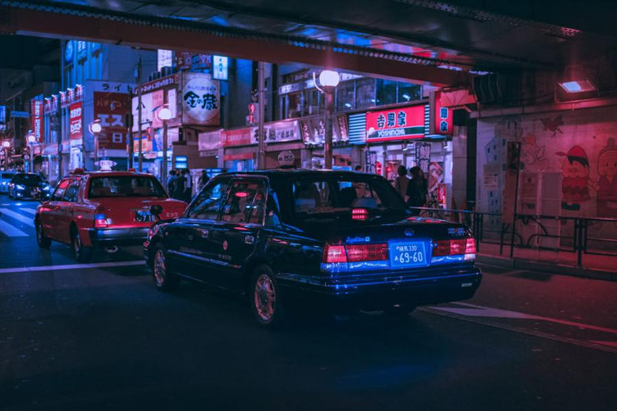 Mesmerizing and Dreamy Pictures of Tokyo's Nightlife