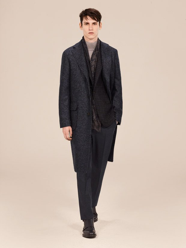 MFW: Canali Fall Winter 2018.19 The Light Of Dawn Collection