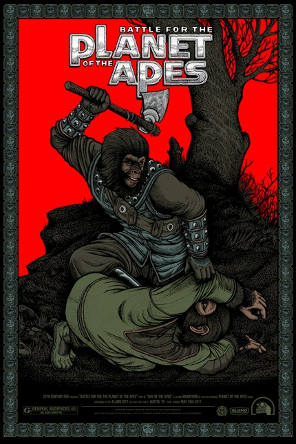 Planet of the Apes Posters - Alamo Drafthouse & Mondo