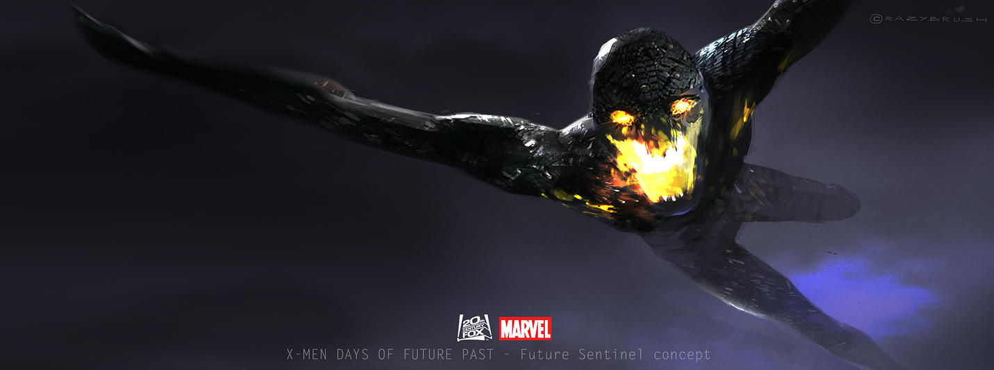 X-Men: Days of Future Past Sentinel Concept Art by Goran Bukvic