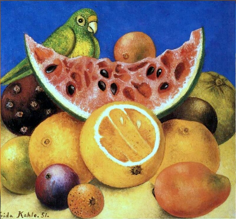 Из произведений Фриды Кало, Мексиканской художницы (2).jpg