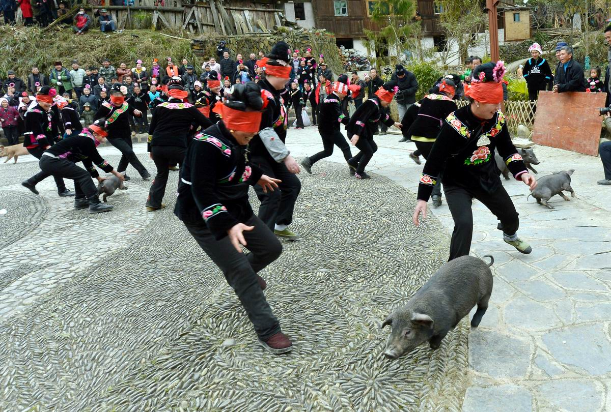 А мы сегодня ловим поросят: Китайские свадебные обряды