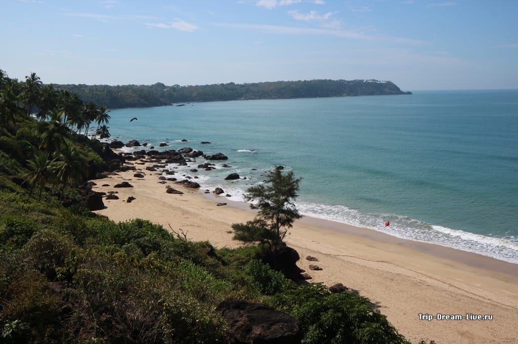 Пляж Кабо де Рама в Южном Гоа