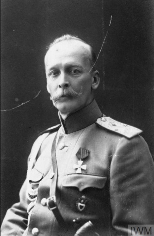 Портрет генерала Кельчевского, начальника штаба Донской армии