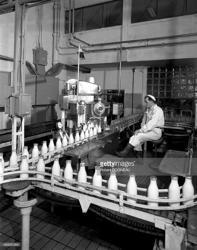 1967. Молочный завод в Иври. 21 апреля