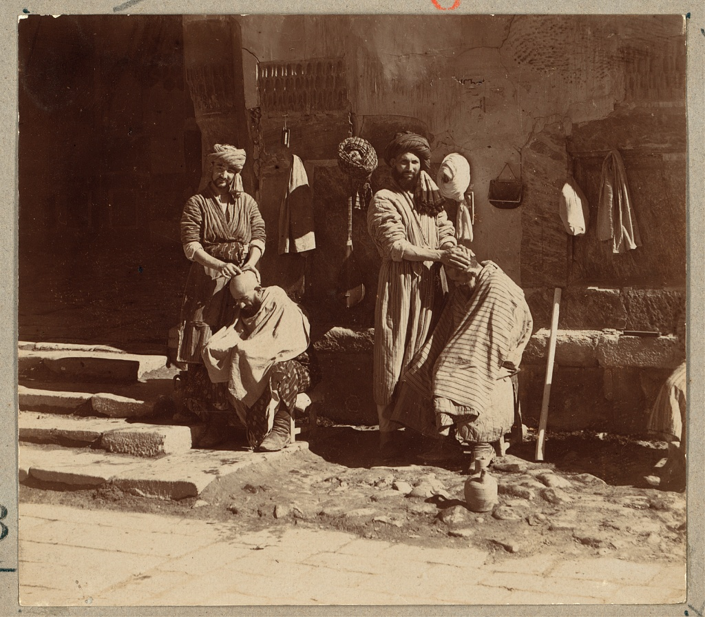 Парикмахер на Регистане
