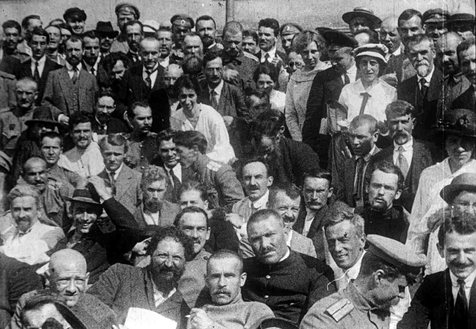 Делегаты I-го Всероссийского съезда крестьянских депутатов  Петроград, 4(17) мая - 28 мая (10 июня) 1917