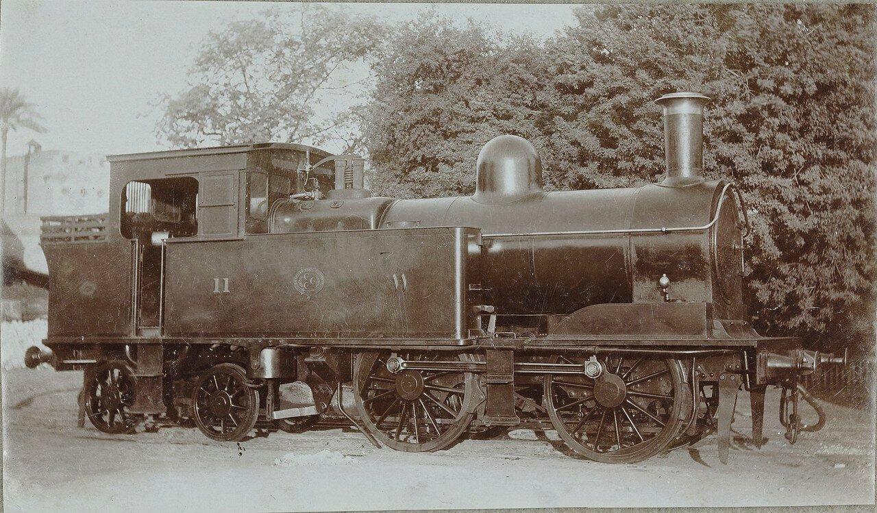 1911. Локомотив № 5439 компании «Beyer, Peacock & Co. Ltd.» из Манчестера