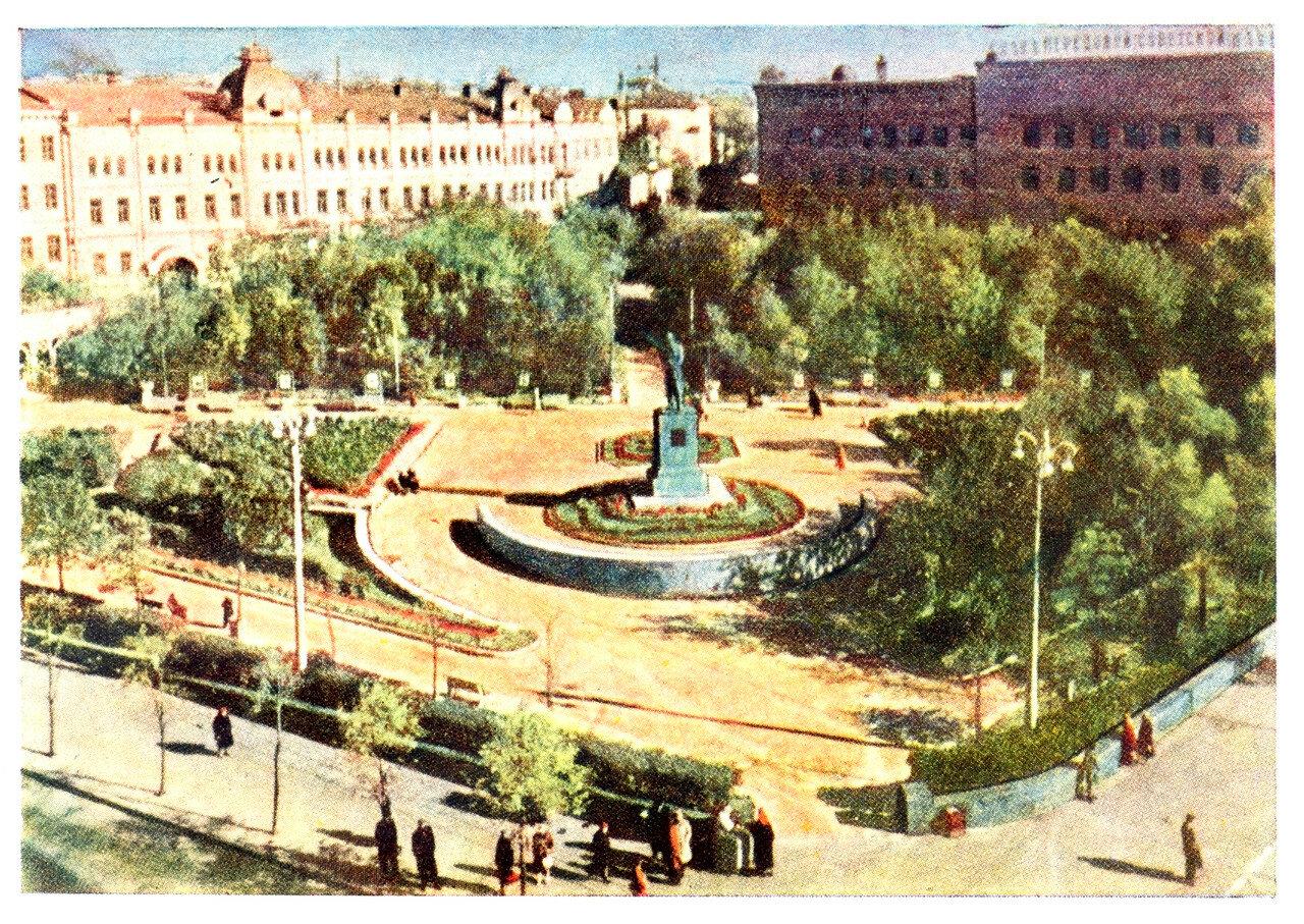 Города СССР 50 лет назад. Горький