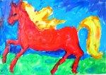 Романенко Давид (рук. Клышко Фрида Борисовна) - Конь
