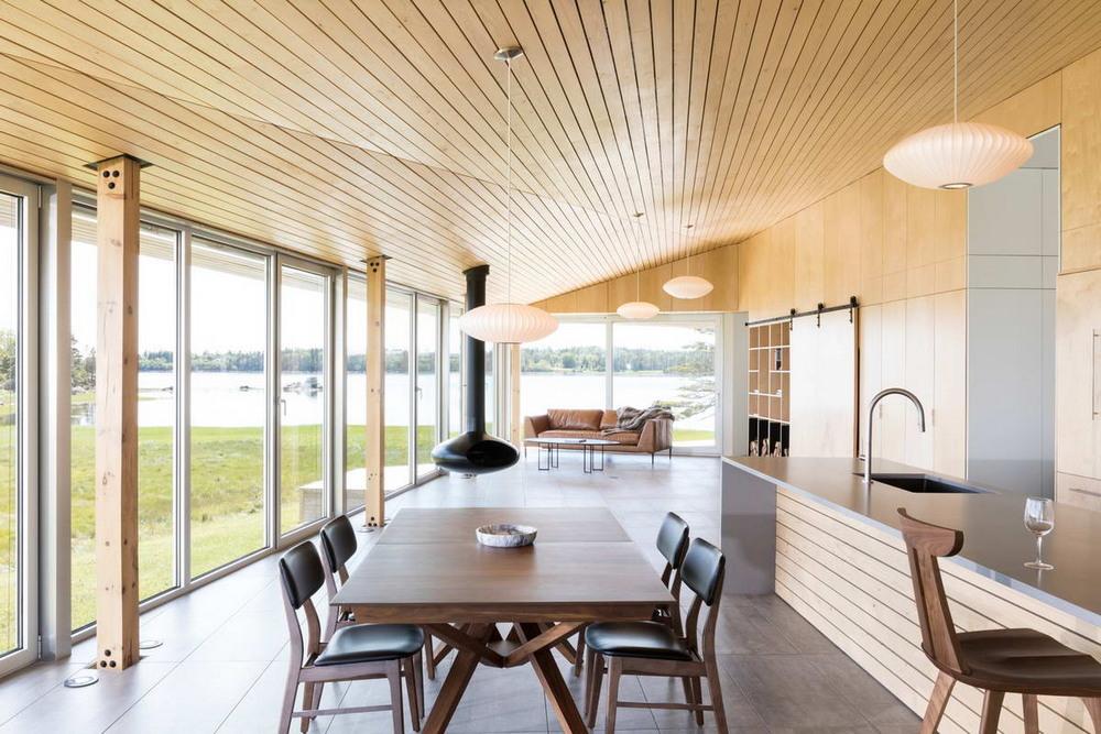 Современный загородный дом в Канаде