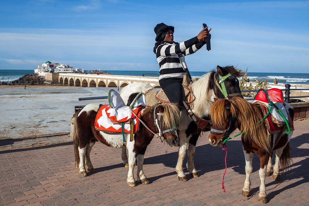 Интересные кадры из Касабланки