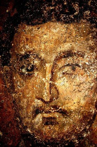 Лики Святых. Фрески церкви Святых Николая и Пантелеимона (Боянской церкви) близ Софии, Болгария. XIII век.