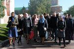 17 и 23 сентября слушатели приходских и епархиальных Богословских курсов двумя потоками традиционно посетили Троице-Сергиеву лавру и Московскую духовную академию