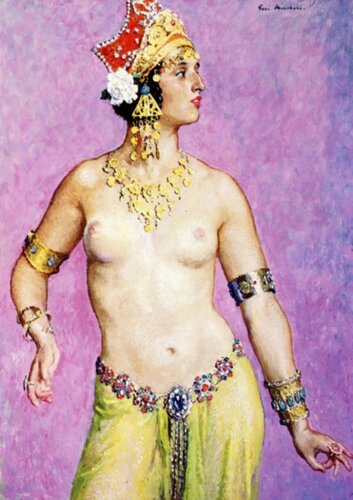 Gari Melchers (1860 – 1932, American) Salome