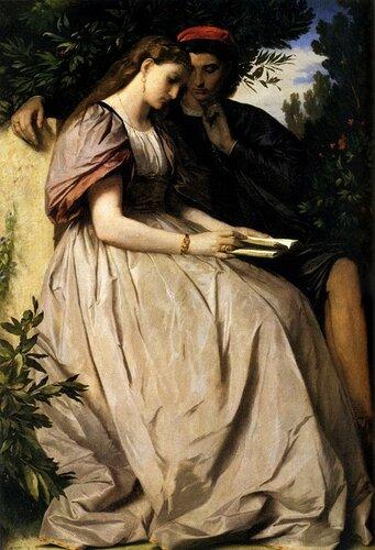 Подборка картин  «Пары в живописи»