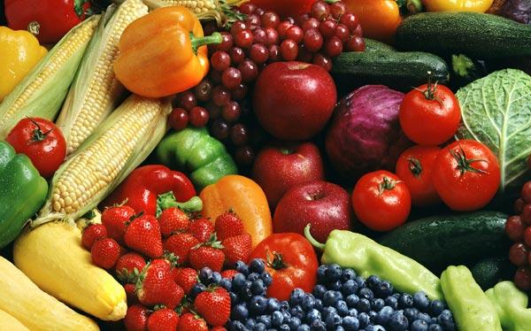 1 ноября. Всемирный день вегана. Фрукты и овощи для вегетарианцев