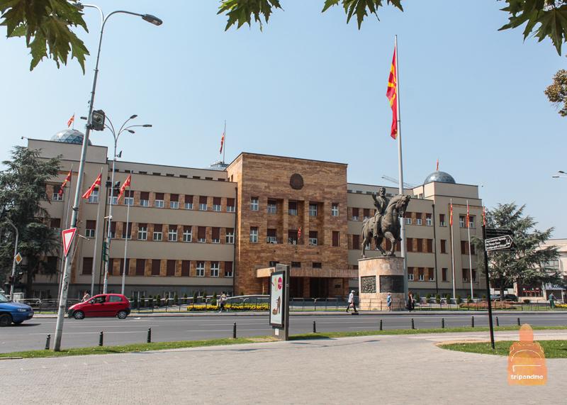 Здание Парламента Скопье