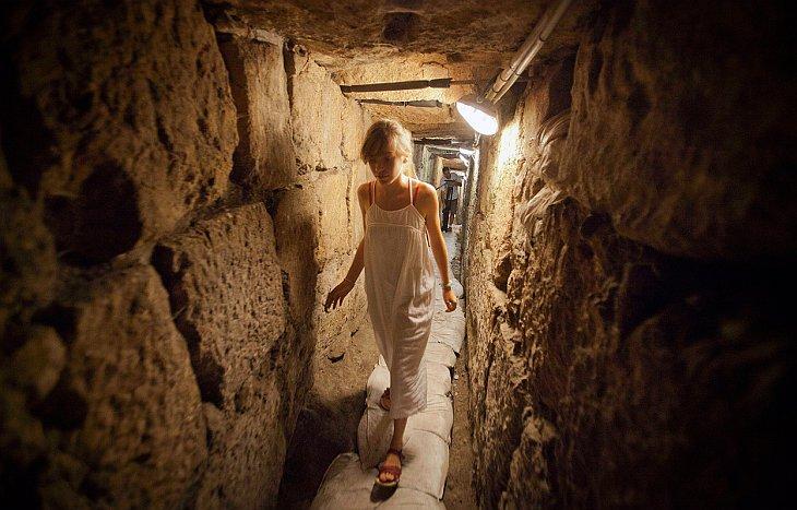 Полным ходом идет строительство нового 1 163 метрового  подземного железнодорожного то