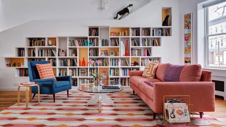 Кошкин дом: пара из Бруклина создала идеальный интерьер для своих питомцев (12 фото)