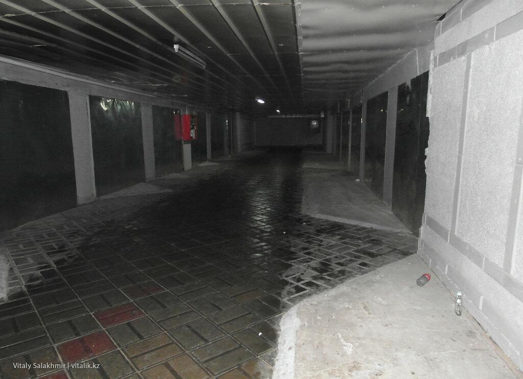 Подземный переход Гоголя Абылайхана, Алматы.